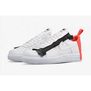 Shoes Low top trainers Nike Air Force 1 Lunar x Acronym Crimson White/Bright Crimson-Black