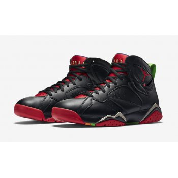 Shoes Hi top trainers Nike Air Jordan 7 Marvin The Martian Black/University Red-GRN PLS-Cool Grey