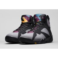 Shoes Hi top trainers Nike Air Jordan 7 Bordeaux Black/Bordeaux-Light Graphite-Midnight Fog
