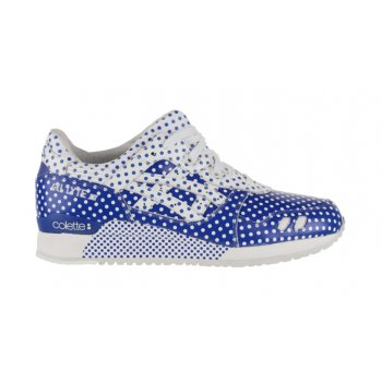Shoes Low top trainers Asics Gel Lyte 3 x Colette Dark Blue/White