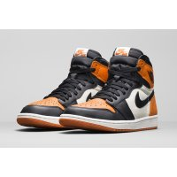 Shoes Hi top trainers Nike Air Jordan 1 High Shattered Backboard Black/Starfish-Sail