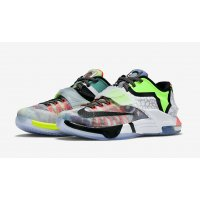 Shoes Low top trainers Nike KD 7 What The Multi Color/Black Horizon
