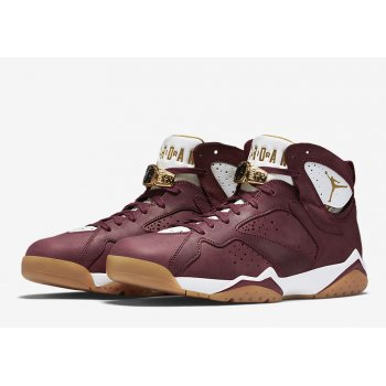 Shoes Hi top trainers Nike Air Jordan 7 Championship Cigare Team Red/White-Gum Light Brown