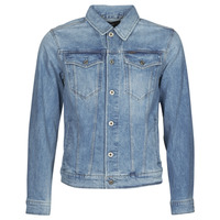 Clothing Men Denim jackets G-Star Raw 3301 SLIM JKT Blue