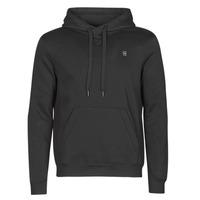 Clothing Men Sweaters G-Star Raw PREMIUM BASIC HOODED SWEATE Black