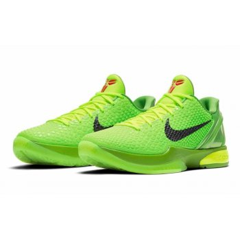 Shoes Low top trainers Nike Zoom Kobe 6 Proto Grinch Green Apple/Volt/Crimson/Black
