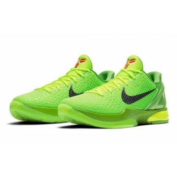 Shoes Low top trainers Nike Zoom Kobe 6 Proto Grinch Green Apple/Volt/Crimson/Black