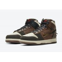 Shoes Hi top trainers Nike Dunk High x Bodega Legend Fauna Brown Fauna Brown/Rustic-Velvet Brown-Multi-Color