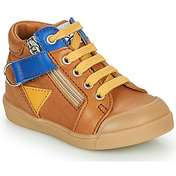 Shoes Boy Hi top trainers GBB TIMOTHE Brown