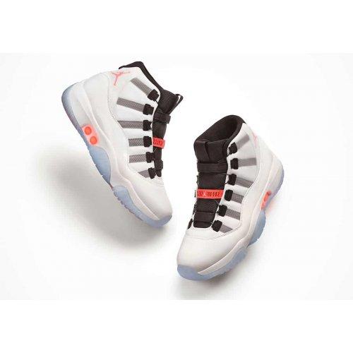 Shoes Hi top trainers Nike Air Jordan 11 Adapt White/Multi-Color