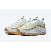 Shoes Low top trainers Nike Air Max 97 x undefeated Sail Sail/White/Aero Blue/Midwest Gold