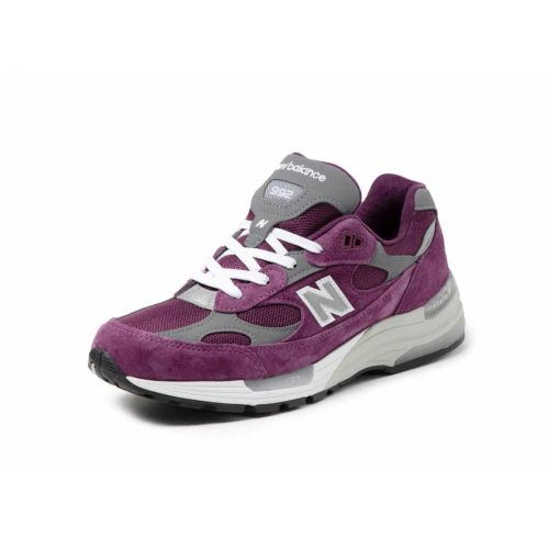 Shoes Low top trainers New Balance 992 Purple Grey Purple / Grey