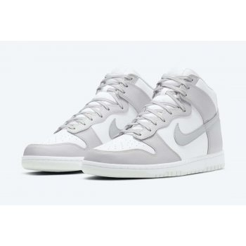 Shoes Hi top trainers Nike Dunk High Vast Grey White/Vast Grey