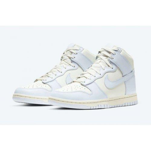 Shoes Hi top trainers Nike Dunk High Football Grey Sail/Football Grey-Pale Ivory