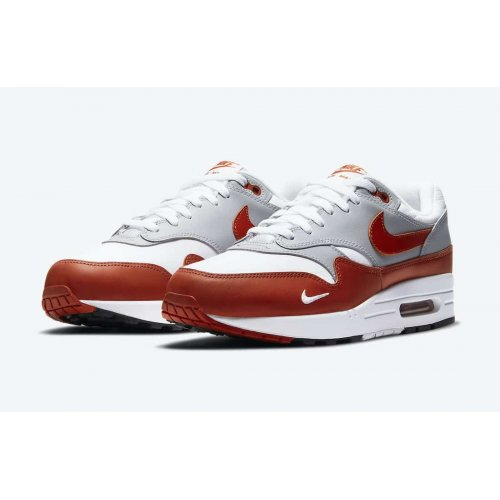 Shoes Low top trainers Nike Air Max 1 Martian Sunrise White/Martian Sunrise-Wolf Grey-Black