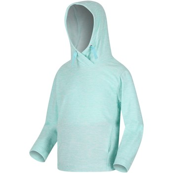 Clothing Children Sweaters Regatta KALINA Hooded Fleece Blue