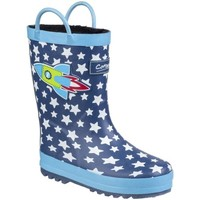Shoes Boy Wellington boots Cotswold Sprinkle Childrens Wellingtons blue