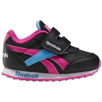 Shoes Girl Low top trainers Reebok Sport Royal CL Jogger Black, Blue, Pink