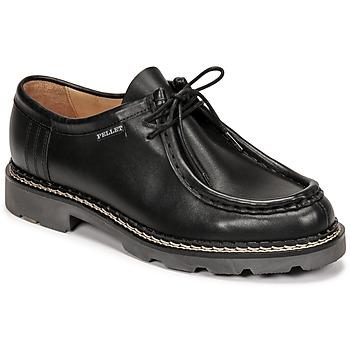 Shoes Men Derby Shoes Pellet Macho Black