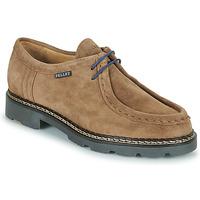 Shoes Men Derby Shoes Pellet Macho Beige