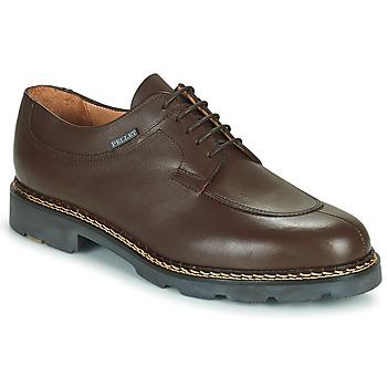 Shoes Men Derby Shoes & Brogues Pellet Montario Brown