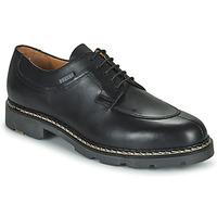 Shoes Men Derby Shoes Pellet Montario Black