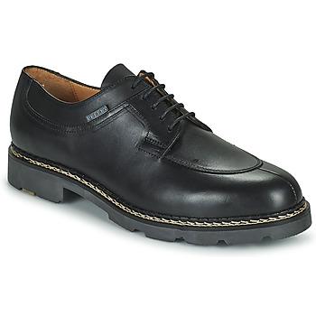 Shoes Men Derby Shoes & Brogues Pellet Montario Black