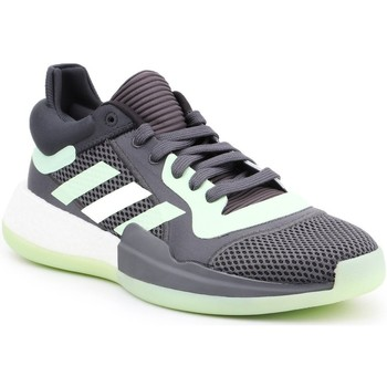 Shoes Men Basketball shoes adidas Originals Adidas Marquee Boost Low G26214 grey, green