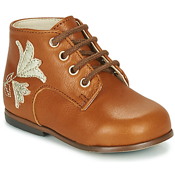 Shoes Girl Hi top trainers Little Mary MEIGE Brown
