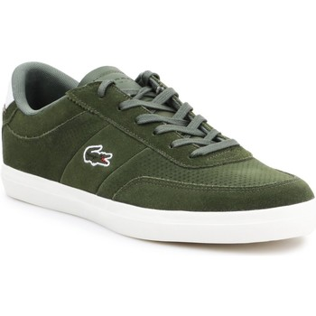 Shoes Men Low top trainers Lacoste Court-Master 219 1 CMA 737CMA0014-2A9 olive green