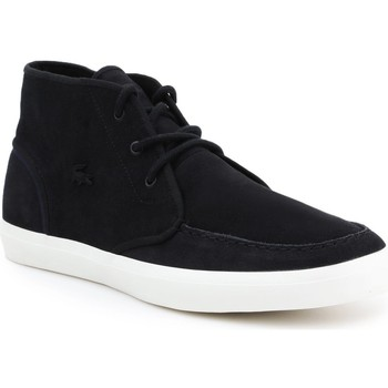 Shoes Men Hi top trainers Lacoste lifestyle shoes 7-32CAM0087024 black