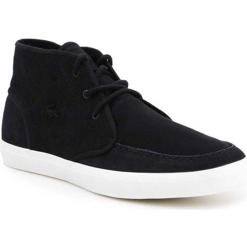 Shoes Men Hi top trainers Lacoste lifestyle shoes 7-32CAM0087024 black