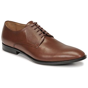 Shoes Men Derby Shoes & Brogues Pellet Alibi Brown