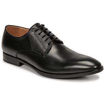 Shoes Men Derby Shoes & Brogues Pellet Alibi Black