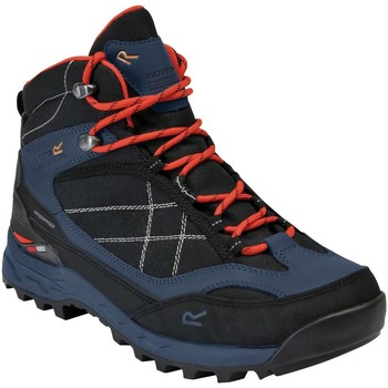 Shoes Men Boots Regatta SAMARIS PRO Walking Boots Black Briar Blue Blue