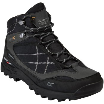 Shoes Men Boots Regatta SAMARIS PRO Walking Boots Black Briar Black Black