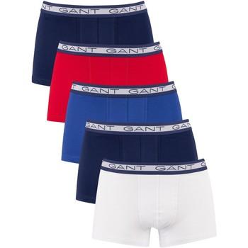 Underwear Men Boxer shorts Gant 5 Pack Basic Trunks multicoloured