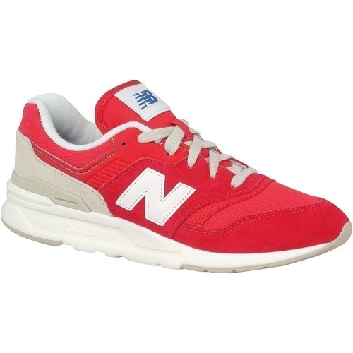 Shoes Children Low top trainers New Balance 997 White, Red