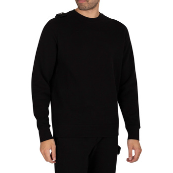 Clothing Men Sweaters Ma.strum Core Crew Sweatshirt black