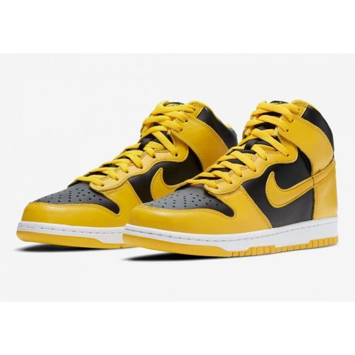 Shoes Hi top trainers Nike Dunk High Varsity Maze Black/Varsity Maize