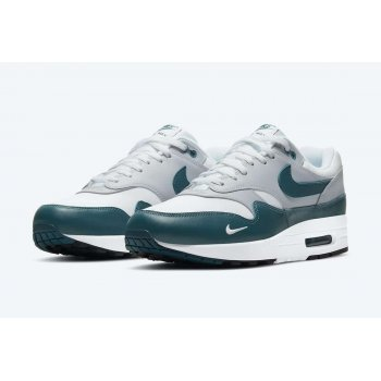 Shoes Low top trainers Nike Air Max 1 Dark Teal Green White/Dark Teal Green/Wolf Grey/Black