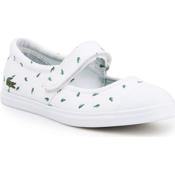 Shoes Women Flat shoes Lacoste Lifestyle shoes  7-31SPJ00361R5 white, green