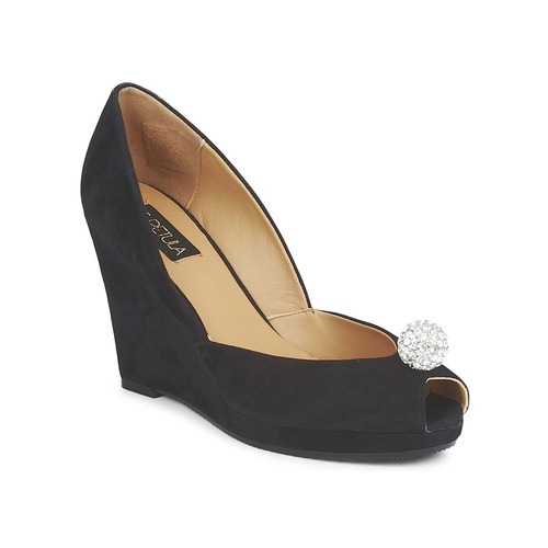 Shoes Women Heels C.Petula YVONNE Black