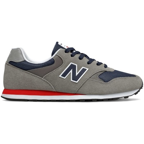 Shoes Men Low top trainers New Balance 393 Grey, Navy blue