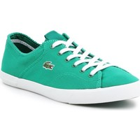Shoes Women Low top trainers Lacoste Ramer White, Green