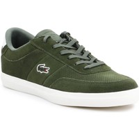 Shoes Men Low top trainers Lacoste Court Master Green