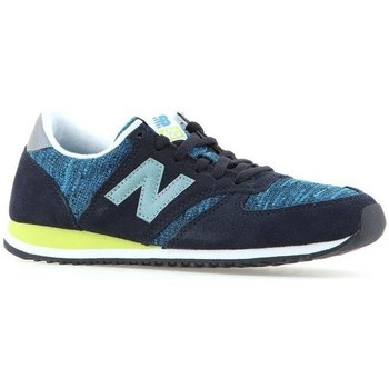 Shoes Women Low top trainers New Balance 420 Blue, Navy blue
