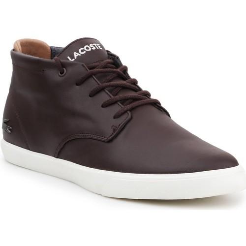 Shoes Men Hi top trainers Lacoste Espere 417 7-34CAM0091167 men's lifestyle shoes brown