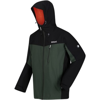 Clothing Men Fleeces Regatta BIRCHDALE Waterproof Shell Jacket Multicolored