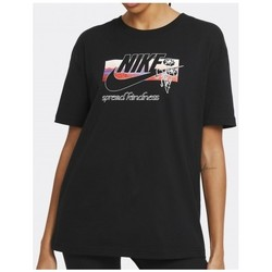 Clothing Women Short-sleeved t-shirts Nike CAMISETA MANGA CORTA MUJER  DB9721 Black